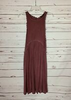 POL Anthropologie Women's S Small Purple Mauve Lace Sleeveless Spring Knit Dress