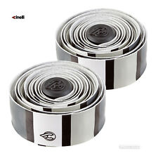 Cinelli VOLEE DESIGNER Bicycle Handlebar Tape : SQUARE WHITE/BLACK/GREY