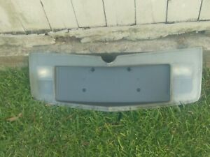 2003 CADILLAC CTS REAR LICENSE PLATE CLEAR PANEL