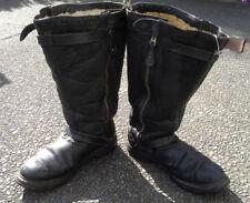 WW2 German Luftwaffe Early War 1938 Leather Pilot Flight Boots - SUPER RARE!