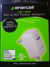 Enercell 3VDC 700mA AC to DC Power Adapter