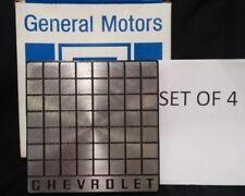 SET OF 4-NEW NOS GENUINE GM IN ORIGINAL BOX CHEVROLET CAVALIER 88-90 CENTER CAPS