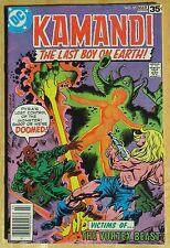 "DC Comics ""KAMANDI"" THE LAST BOY ON EARTH  # 55, Photos Show Great Condition"