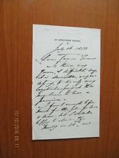More details for 1880 ? antony ashley cooper lord shaftesbury 7th earl tory mp autograph letter