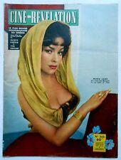 ►CINÉ-RÉVÉLATION 253/1959- MARA LANE-CLAUDE TITRE-ANOUK AIMEE- ROMY SCHNEIDER...