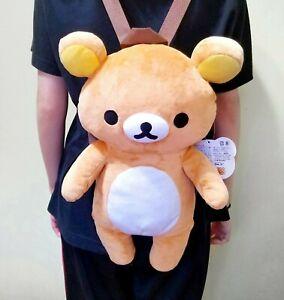 Official Authentic San-X Rilakkuma 40cm Plush Backpack Japan Import USA Seller