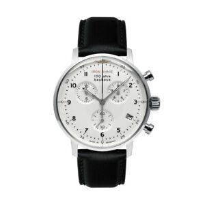 Men's Watch Iron Annie Bauhaus Chronograph, Eta G10.212, Steel, Quartz, 5096-1