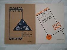 Catalogo EDOARDO HUNKE - ARREDAMENTI MODERNI PER SALE DA BAGNO, Edizione n. 2