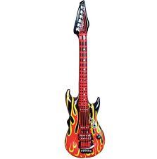1 gonfiabile chitarra rock anni '60 ANNI 70 Costume 106cm FIAMMA