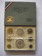 1969 COFFRET MONNAIE DE PARIS COMPLET SOUS BLISTER MDP FDC BU AVC HERCULE ARGENT