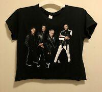 EUC Duran Duran Paper Gods Concert Tour Crop Half Tee Shirt Women's L