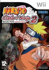Naruto: Clash of Ninja Revolution 2 (Nintendo Wii, 2009)