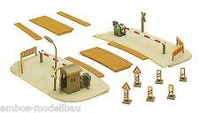 Faller 222173 Spur N, Bahnübergang, beschrankt, Epoche II, Bausatz, Neu