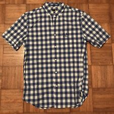 Fred Perry x Raf Simons Short Sleeve Checkered Shirt