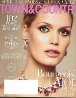 Town And Country Magazine Lady Kitty Spencer Fashion The Haunting Of Paris 2019