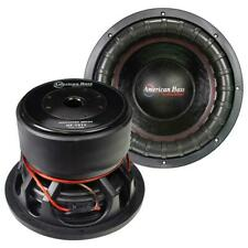 """American Bass GF1511 Godfather 15"""" 400 oz Magnet 4"""" Voice Coil Dual 1 ohm"""