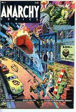 Anarchy Comics #3 Last Gasp Mavride Kinney 1981 Fine+
