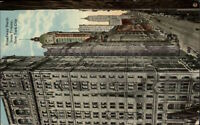 New York City Broadway North From Trinity c1910 Postcard