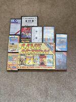 Commodore 64 / 128 - 10x Tape Game Bundle - Mixed Bundle - Joblot - Commodore(3)