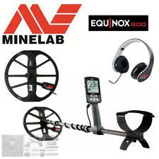 "Minelab Equinox 600 Multi Freq Waterproof Metal Detector 11"" Eq Coil (NEW)"