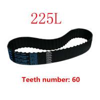 1x Bridgeport Milling Machine 225L Belt Gear Inner 60 Teeth Vertical Mill Belt