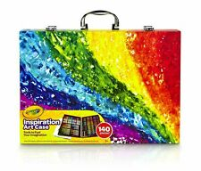 """""""Crayola Inspiration Art Case 140 Pieces Art Set Gifts for Kids and Adults"""""""
