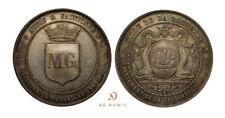 Jeton/Médaille argent Assurances Mutuelles Contre l'Incendie - La Rochelle