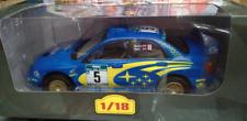 Coche Subaru Impreza WRC - R. Burns #5 - Rally New Zealand 2001 - (Escala 1/18)