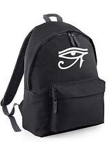 Eye of Horus Ra Egypt Backpack Rucksack School College Work Bag canvas men women