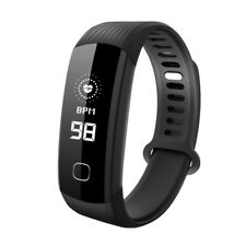 IP68 Waterproof Fitness Activity Tracker Watch Real Time Heart Rate Monitor