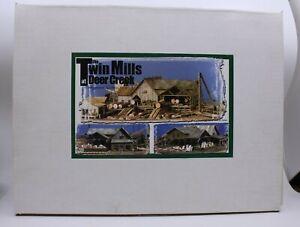 Sierra West HO Scale The Twin Mills at Deer Creek Building Kit