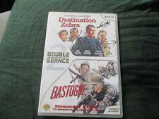 "COFFRET 2 DVD ""DESTINATION ZEBRA Rock Hudson / BASTOGNE Van Johnson"" guerre"