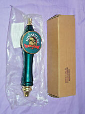 CRACKED CANOE Moosehead light Short Beer Tap Handle MIB 50 in stock Bar Man Cave