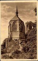 Bezděz Tschechien Česká Böhmen AK 1926 Burg Bösig Kapelle Kirche Gebäude Bauwerk