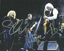 Robert Plant / Paul Paige Autographed Signed 8x10 Photo ( Led Zeppelin ) Reprint