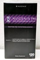 Nugenix PM ZMA Booster Dietary Supplement 120 Capsules 01/2020+