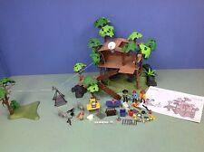 (O3217.2) playmobil maison dans les arbres, aventure ref 3217 3219