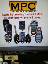 mpc complete add on remote start 2014-2016 Toyota Corolla Includes bypass module