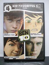 ** Ben 10 Movie Collection - 4 Kid Favorites (DVD) - Cartoon Network