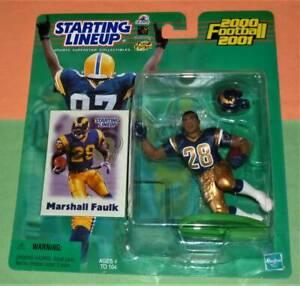 2000 MARSHALL FAULK new St Saint Louis Rams *FREE_s/h* Starting Lineup Hobby