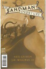 Sandman: Overture #3 Dave McKean 1:200 Special Ink Cover