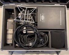 Omnitronic Tube C-10 Studio Röhren Kondensatormikrofon inkl. Wandler