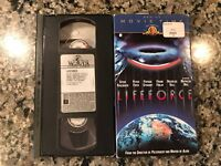 LIFEFORCE VHS! 1985 Horror! Apollo 18 Aliens Planet Of The Vampires ET