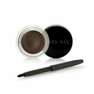 New Mary Kay Gel Eyeliner Espresso Ink With Expandable Brush NIB FRESH