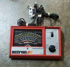 Vintage Actron Engine Analyzer Model 615 In Original Box With Paperwork...(JJ)