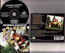 JOHNNIE BASSETT & THE BILL HEID TRIO- Bassett Hound CD *HAND SIGNED* 1997 Blues