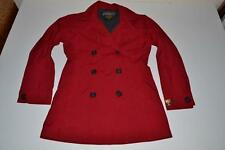 ZERO RESTRICTION GOLF PRESIDENTS CUP RED TRENCH COAT WOMENS SIZE XS