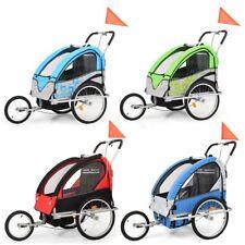 vidaXL Kinderfahrradanhänger 2-in-1 Kinder Fahrrad Anhänger mehrere Auswahl