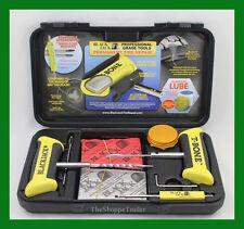 "BlackJack Passenger Tire Repair Kit T-Bone Handles 40 4"" Plugs Kt-340"