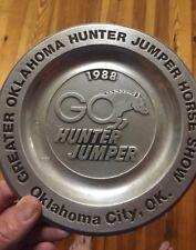 GREATER OKLAHOMA HUNTER JUMPER HORSE SHOW ASHTRAY Oklahoma City